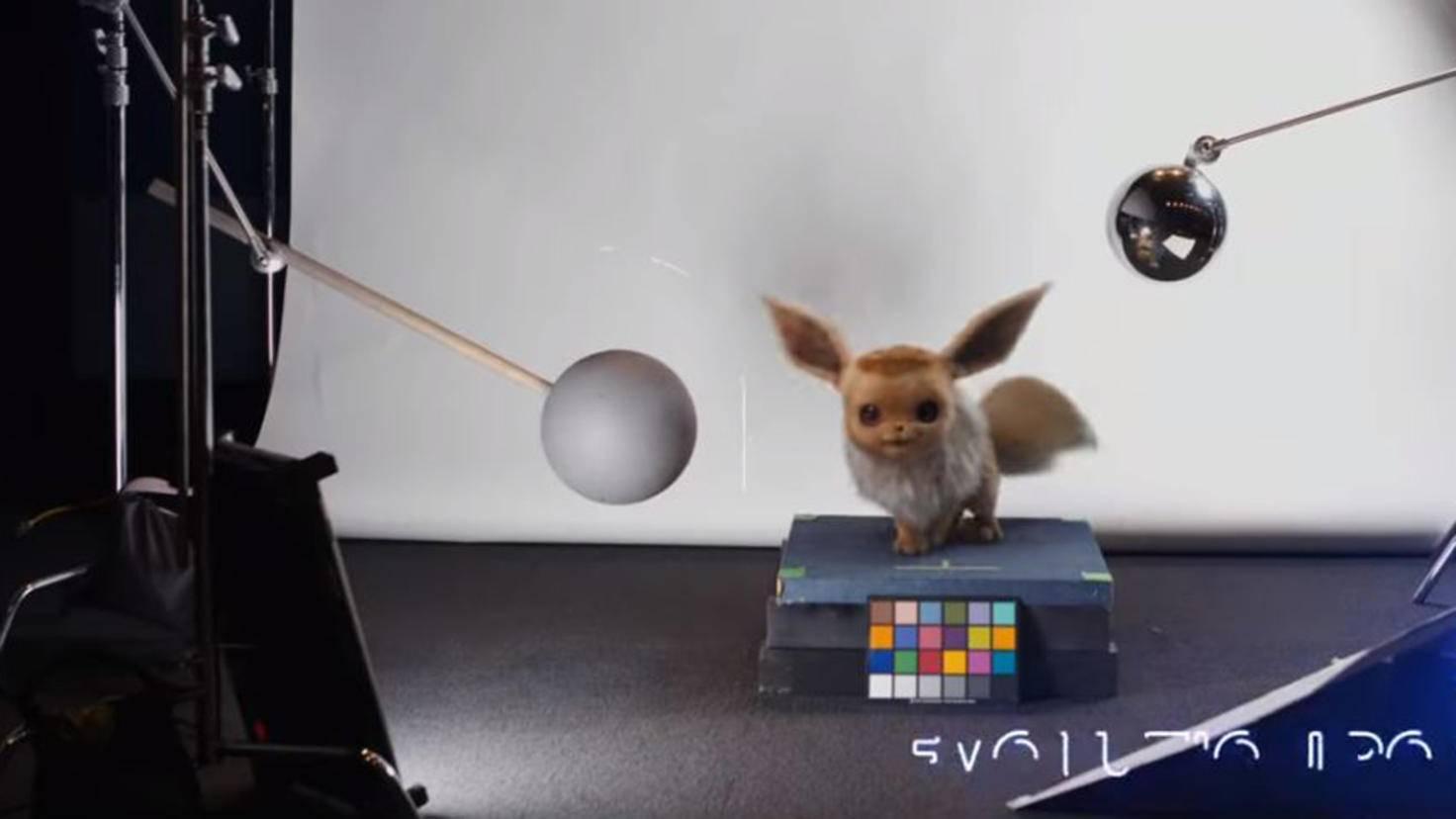 Evoli in Pokémon Meisterdetektiv Pikachu Casting Trailer