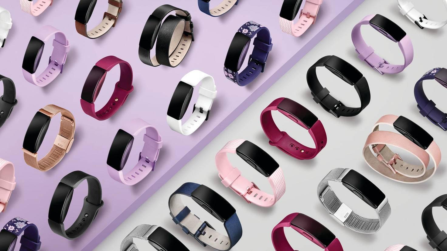 Die Modelle der Fitbit-Inspire-Familie lassen sich durch Wechselarmbänder optisch vielfältig anpassen.