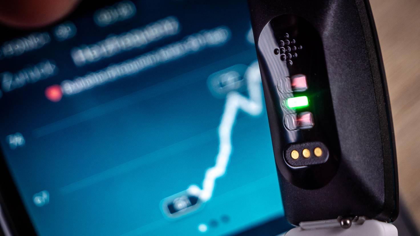 In der App werden all Deine Herzfrequenzwerte abgebildet.