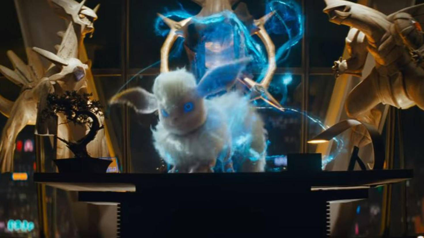 Flamara in Pokémon Meisterdetektiv Pikachu Trailer 2