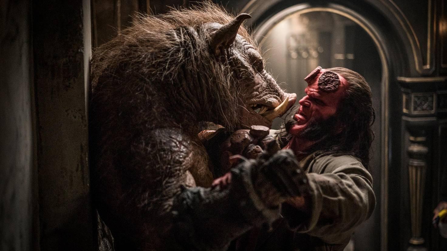 Auch der Gruagach hat mit Hellboy noch ein Hühnchen zu rupfen.