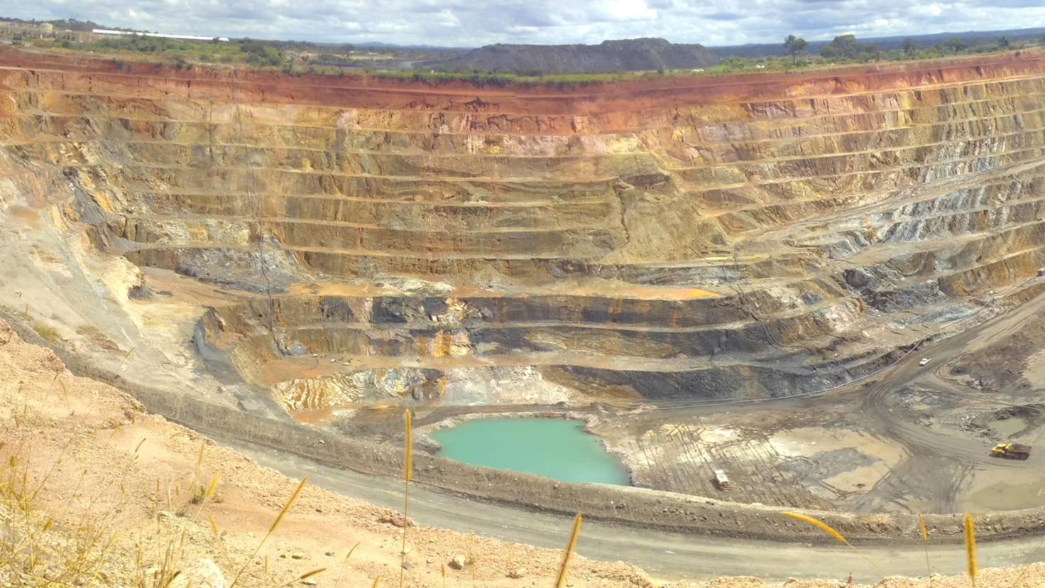 Kupfermine Kongo