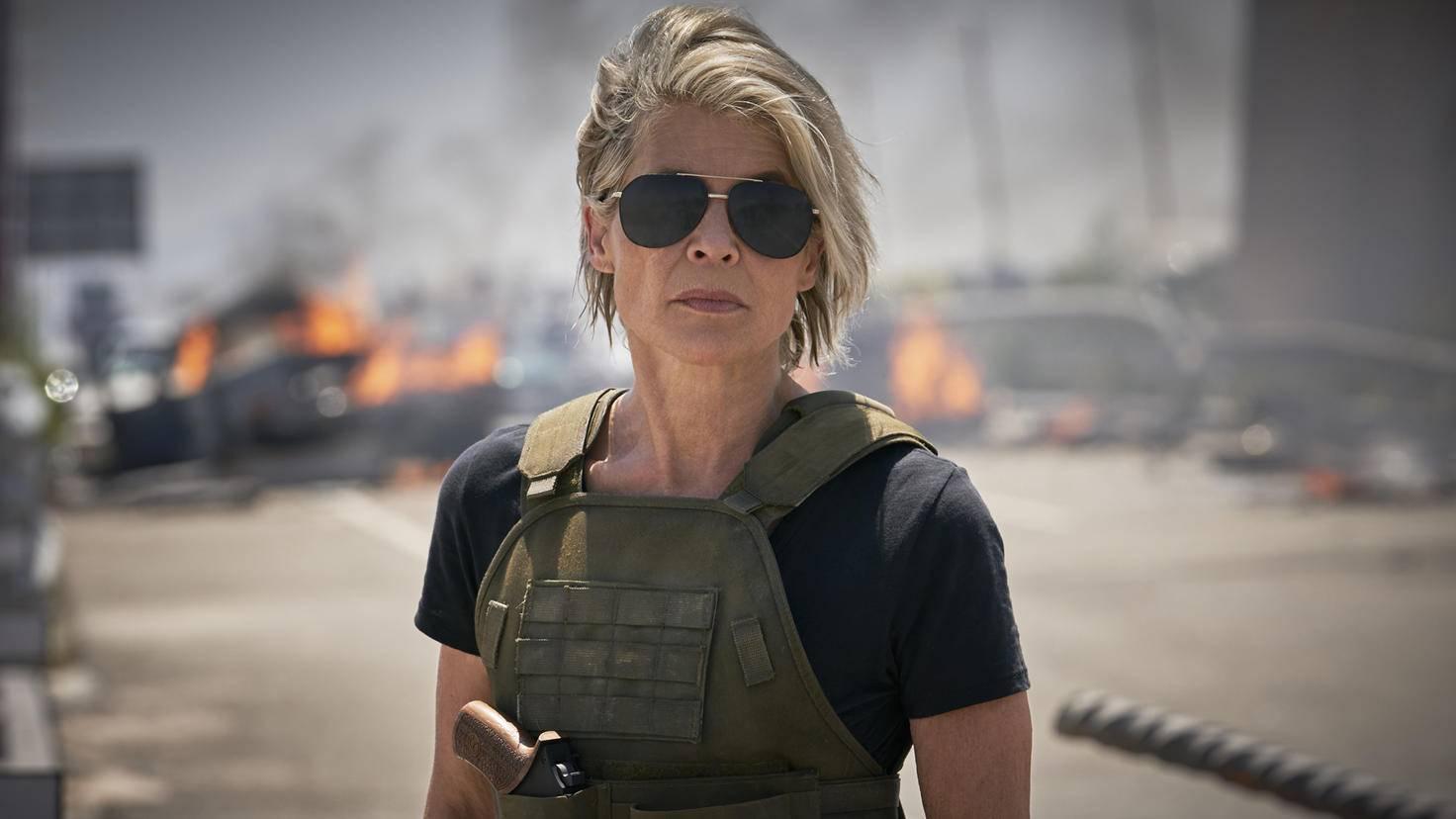 Linda Hamilton als Sarah Connor in Terminator Dark Fate