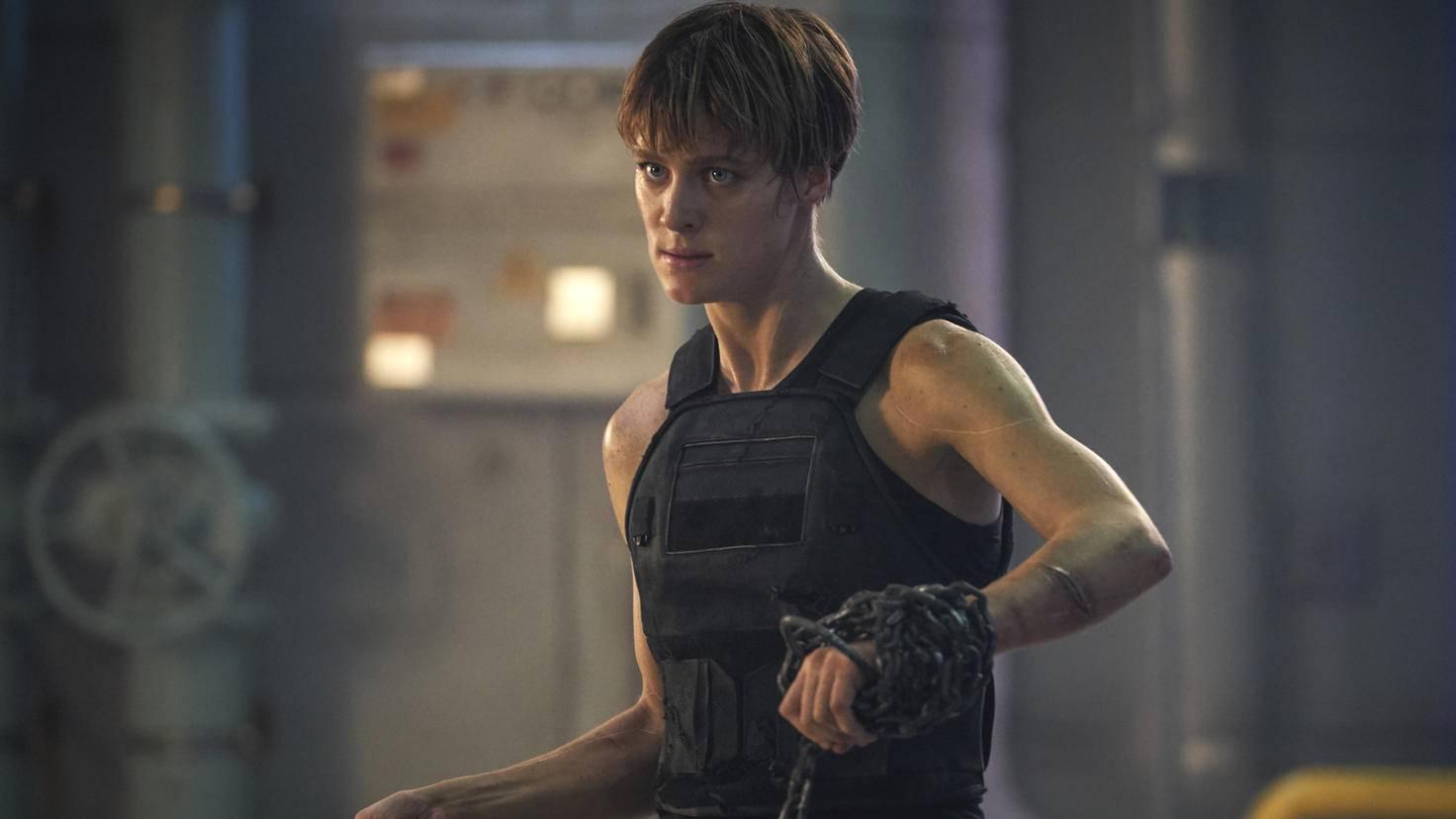Mackenzie Davis als Grace in Terminator Dark Fate Twentieth Century Fox