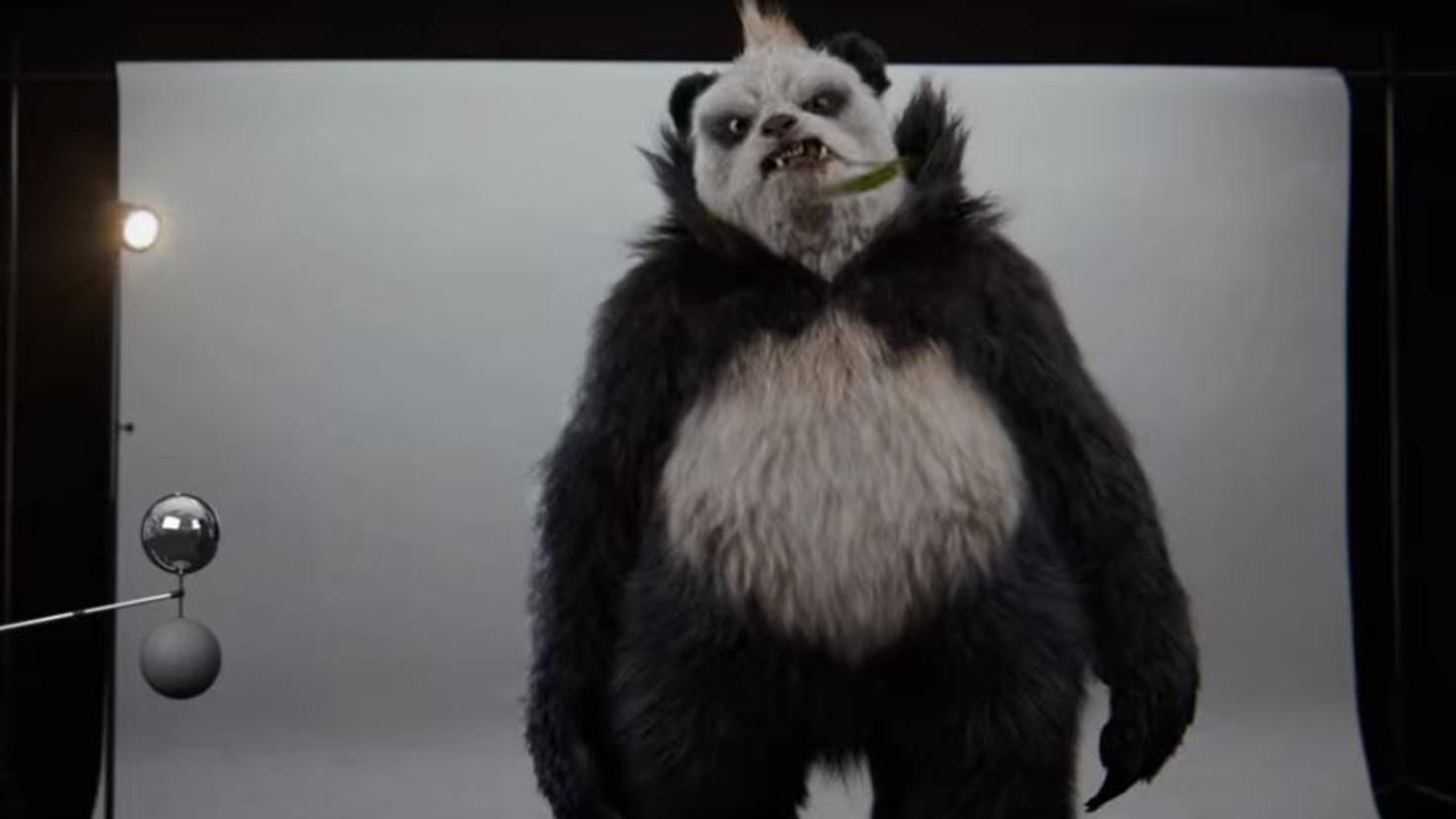 Pandagro in Pokémon Meisterdetektiv Pikachu Casting Trailer