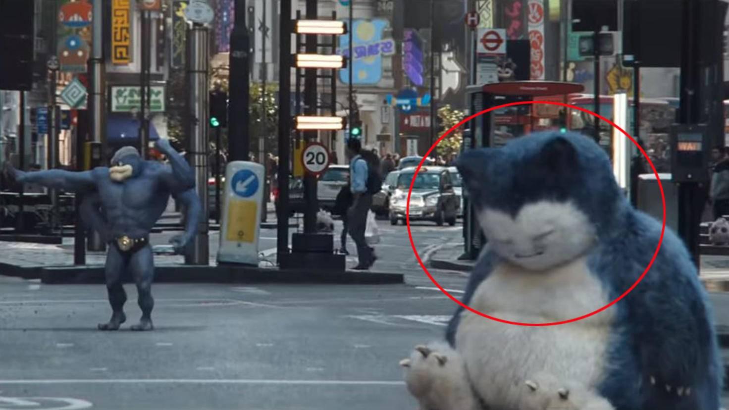 Relaxo in Meisterdetektiv Pikachu Trailer 2