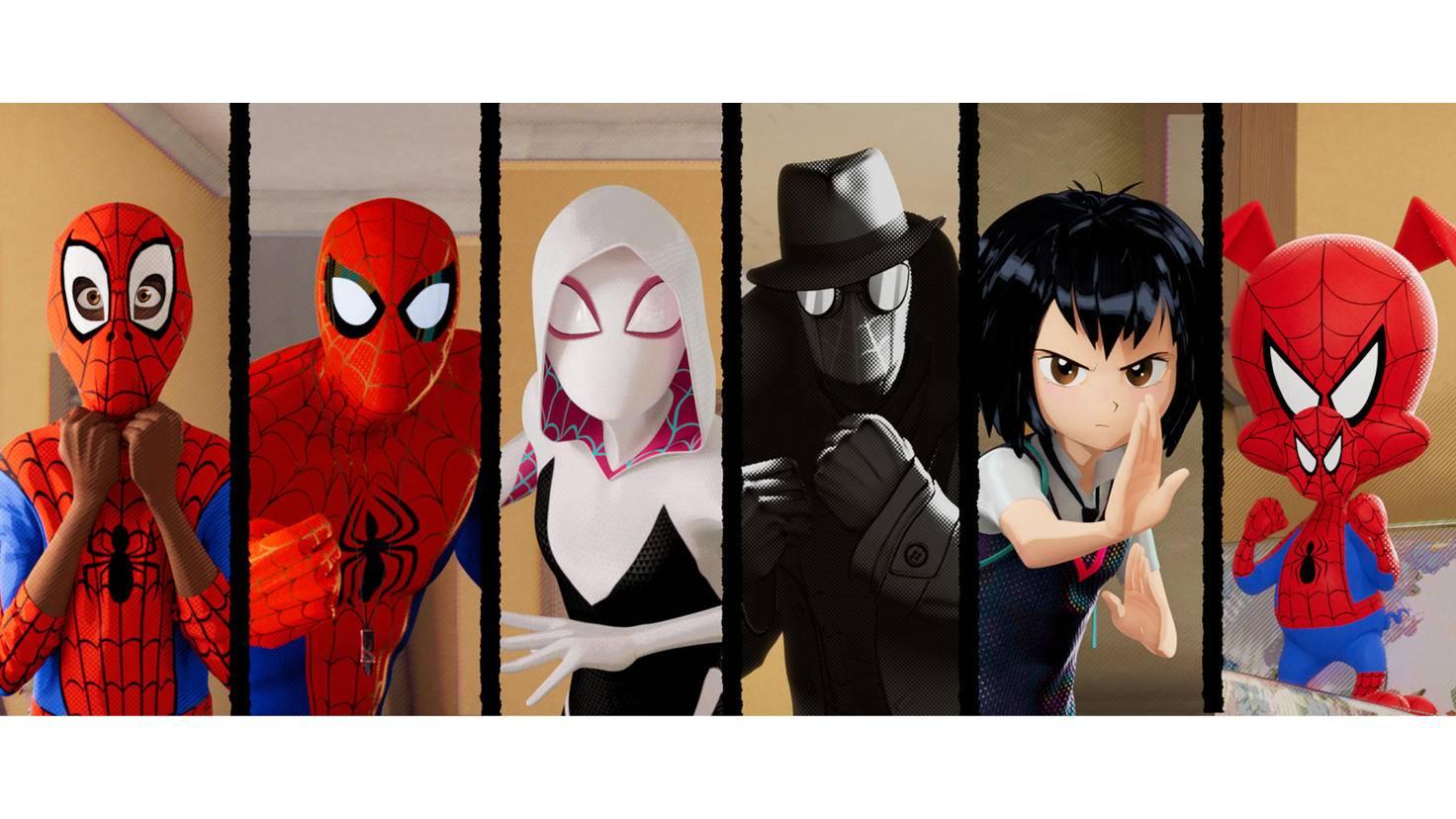 Spider-Man A New Universe Szenenbild 2 Sony Pictures Home Entertainment