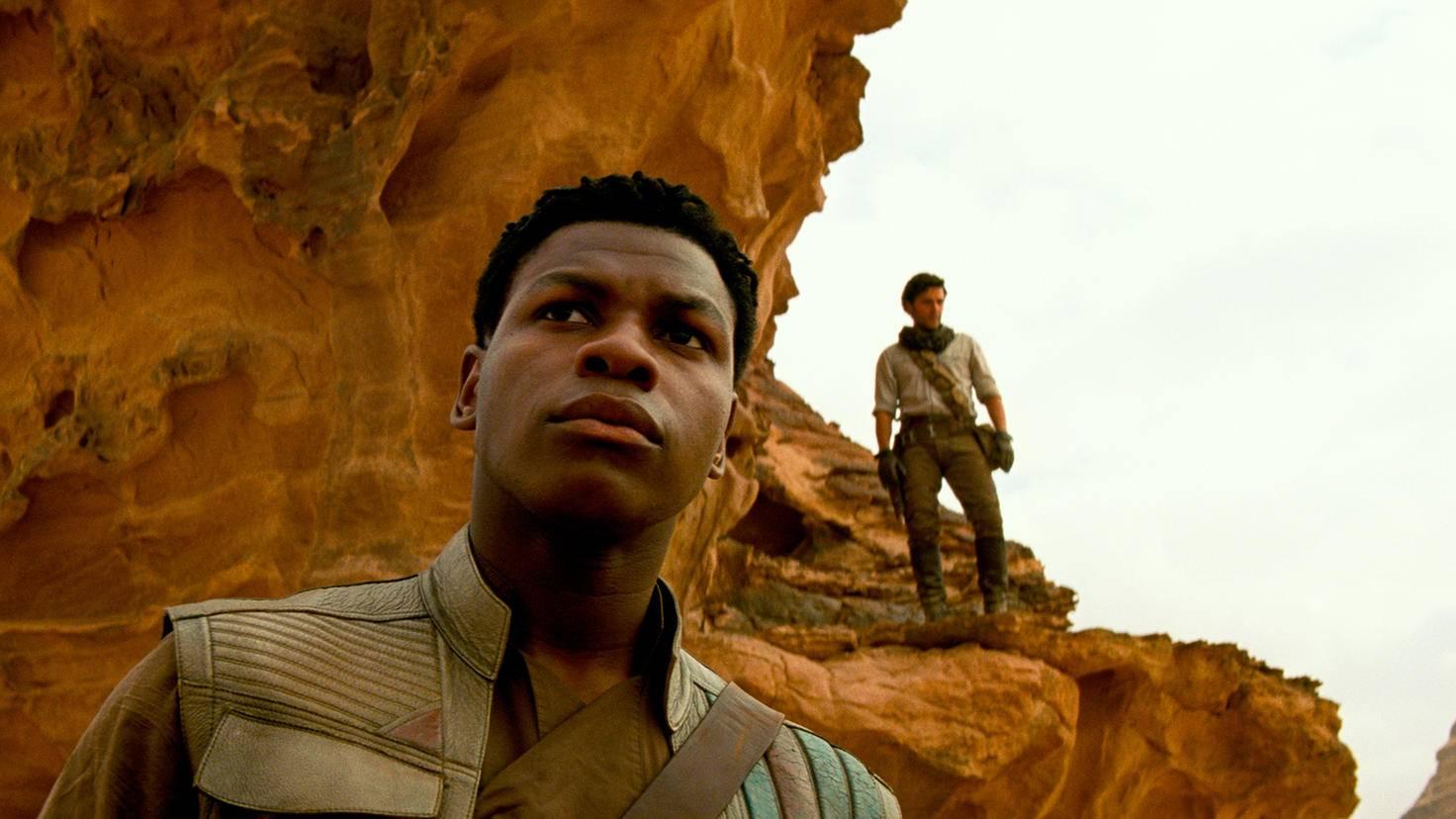 Was suchen Finn und Poe?