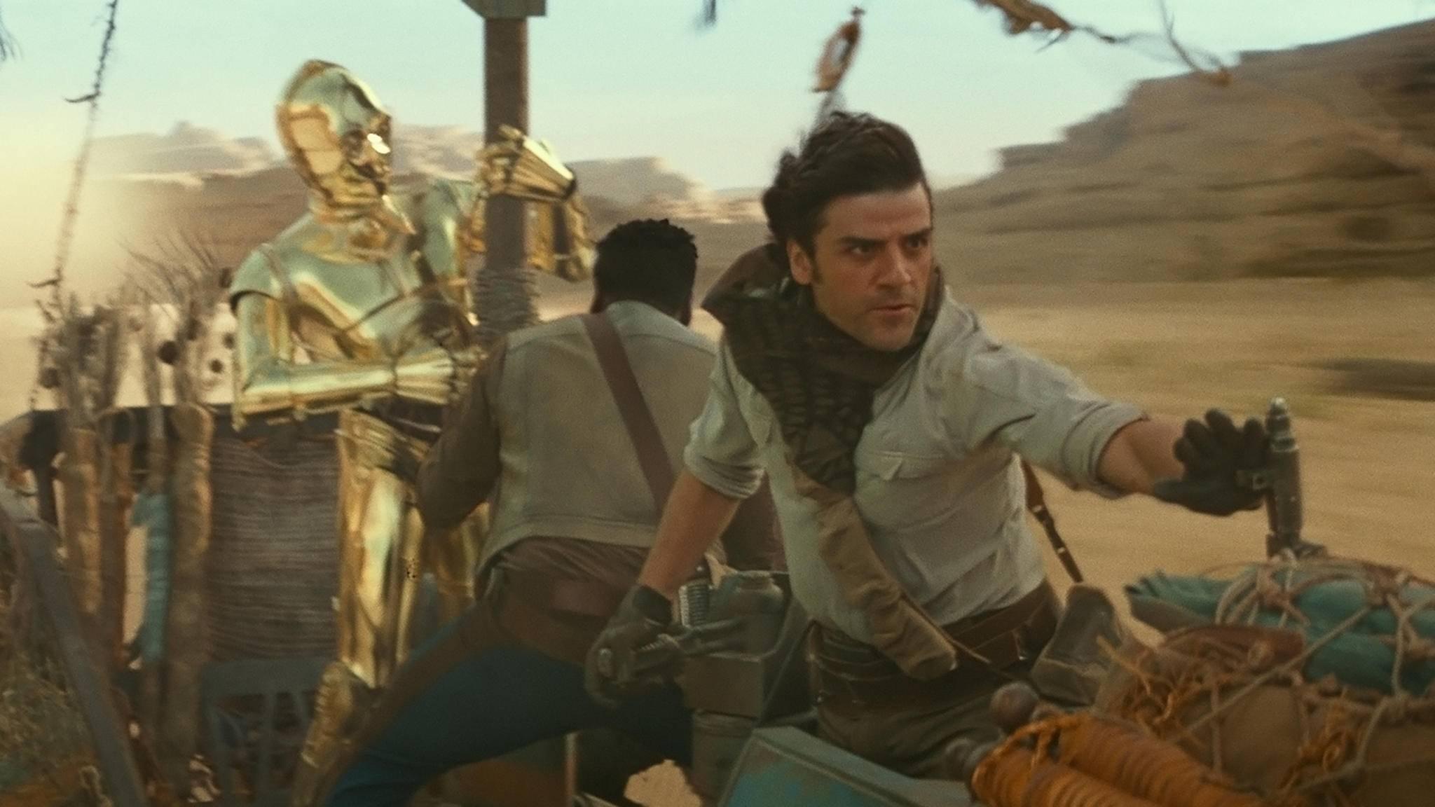 Poe und Finn liefern sich eine wilde Jagd – aber mit wem?
