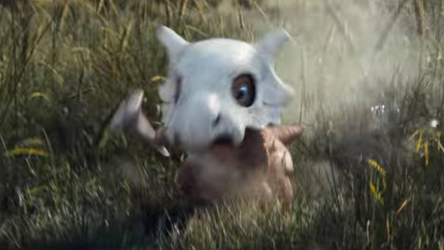 Tragosso in Pokémon Meisterdetektiv Pikachu Trailer 2