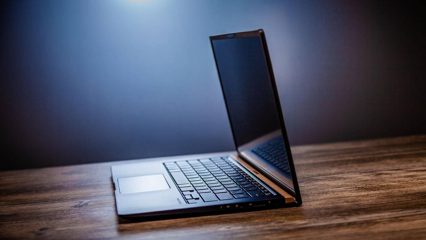 ... dabei ist der Laptop gut verarbeitet ...