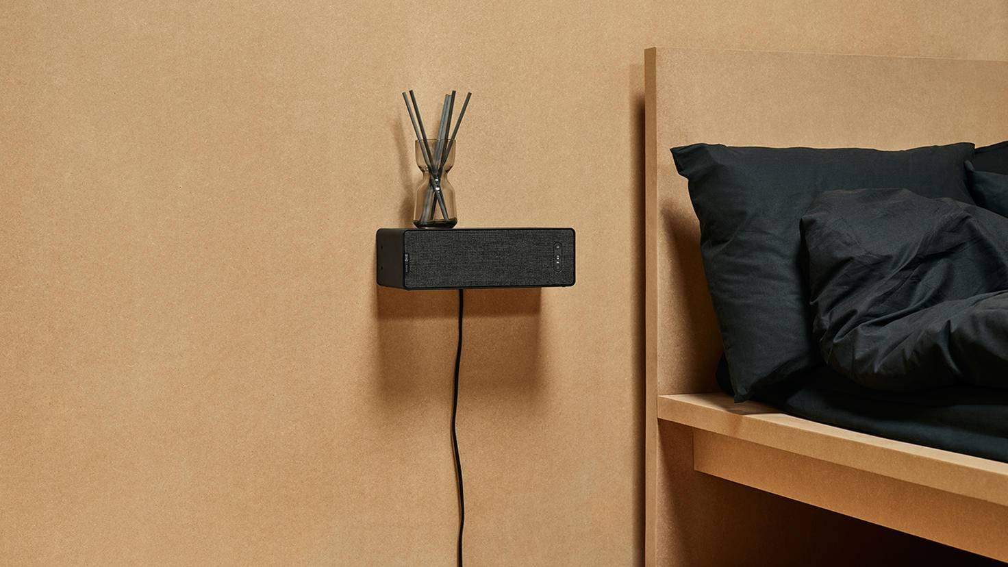 Einer der Sonos-Speaker ist als Wandregal nutzbar.