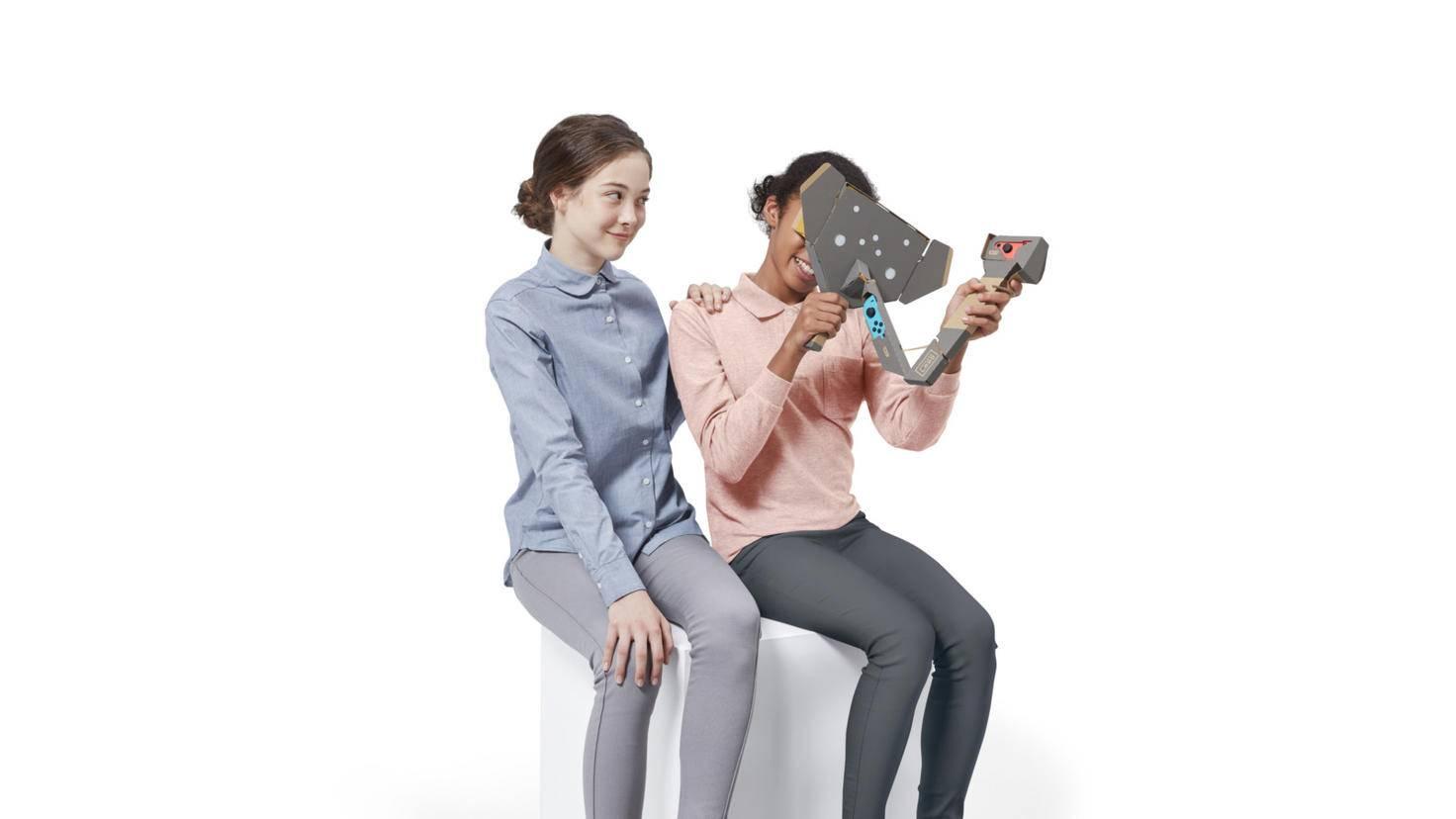 Labo VR richtet sich explizit an Kinder.