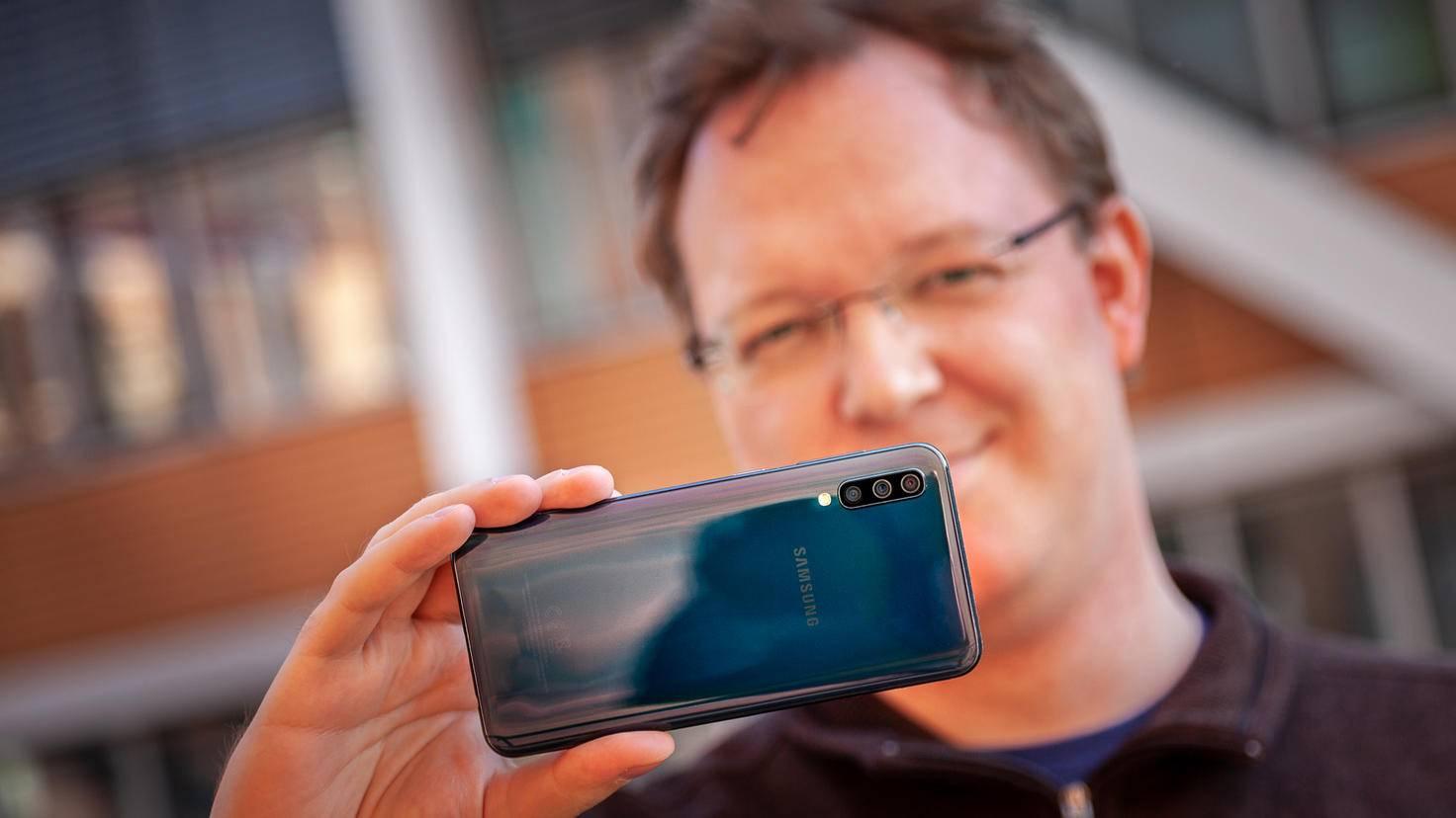 Fotografieren macht mit dem Galaxy A50 Spaß.
