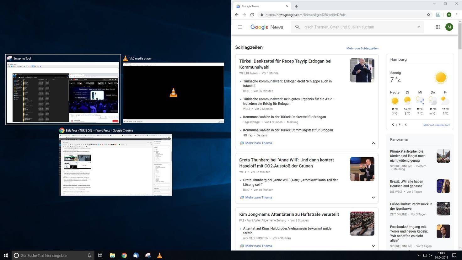 Bildschirm Teilen Windows 10