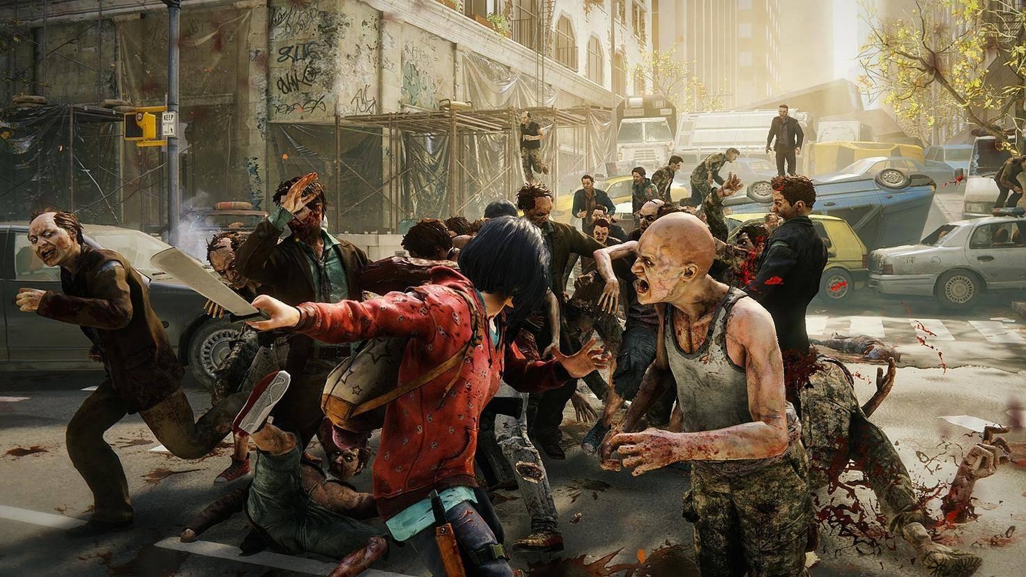 Fast allein gegen viele – für Zombie-Fans ein vertrautes Bild.