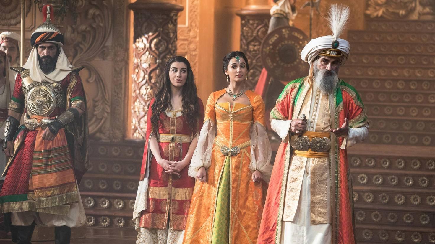 Im Palast des Sultans herrscht strengere Etikette.