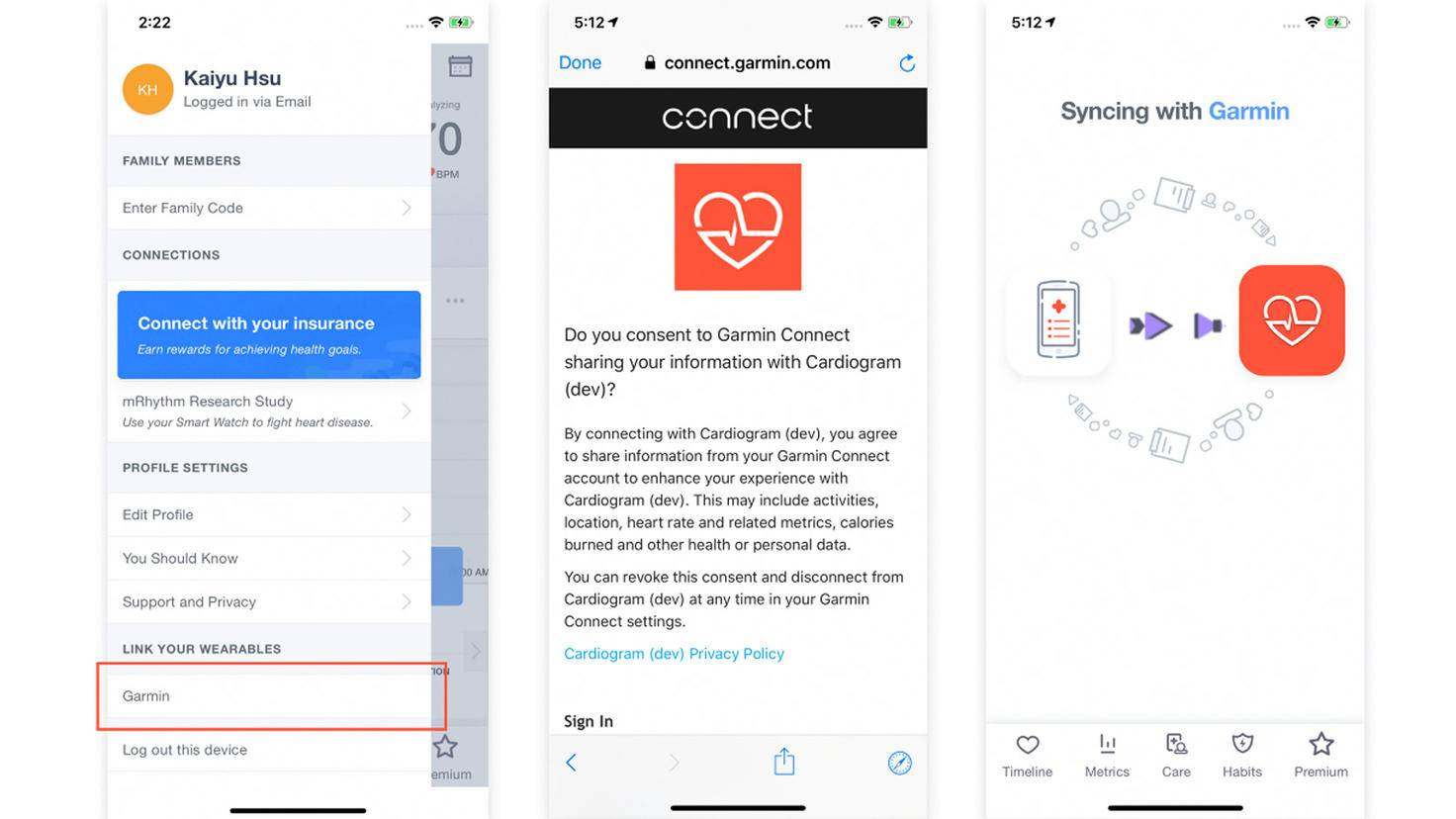 Cardiogram-App-Cardiogram