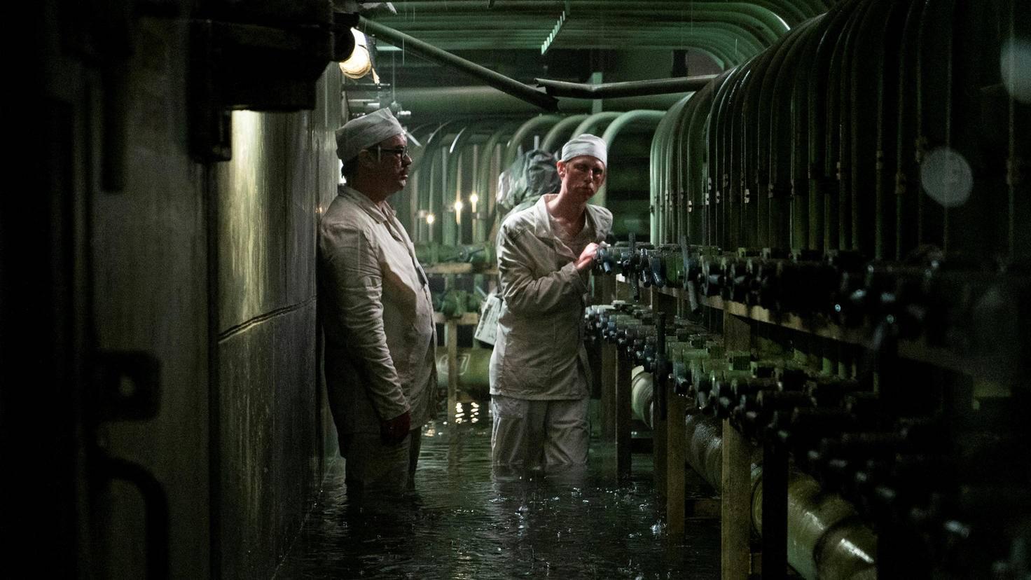 ... Mitarbeiter des Reaktors ...