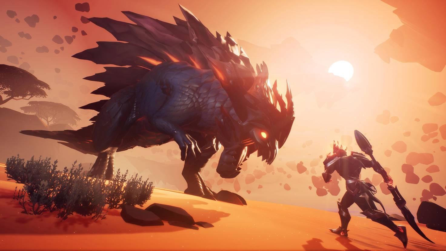 Imposante Bestien gibt es in beiden Spielen.