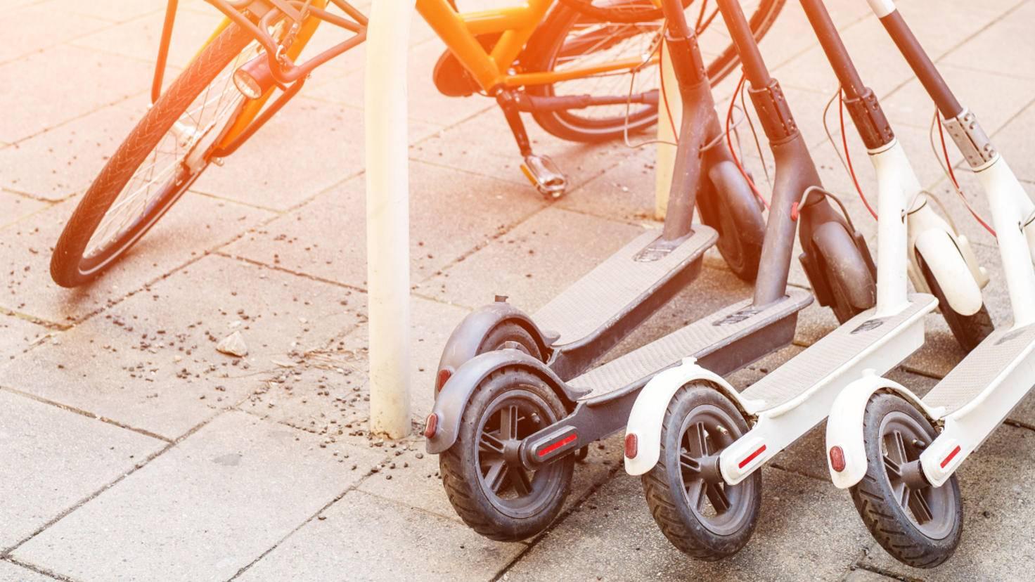 e scooter e roller e bike pedelec was ist da der. Black Bedroom Furniture Sets. Home Design Ideas