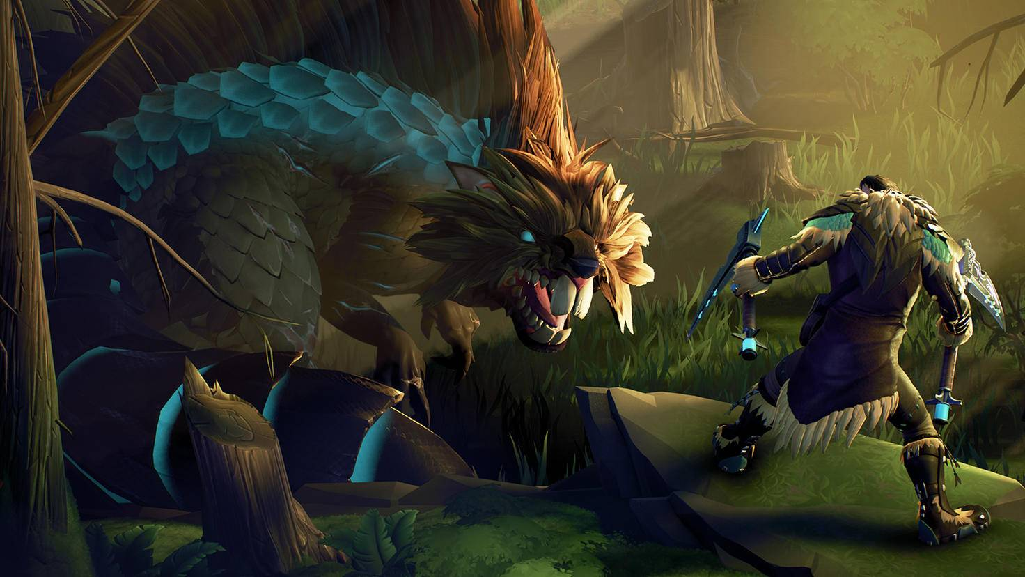 Der lange Schwanz des Gnashers kann echt nerven. Brich ihn, und das Monster ist ein gutes Stück kürzer – und leichter zu besiegen.