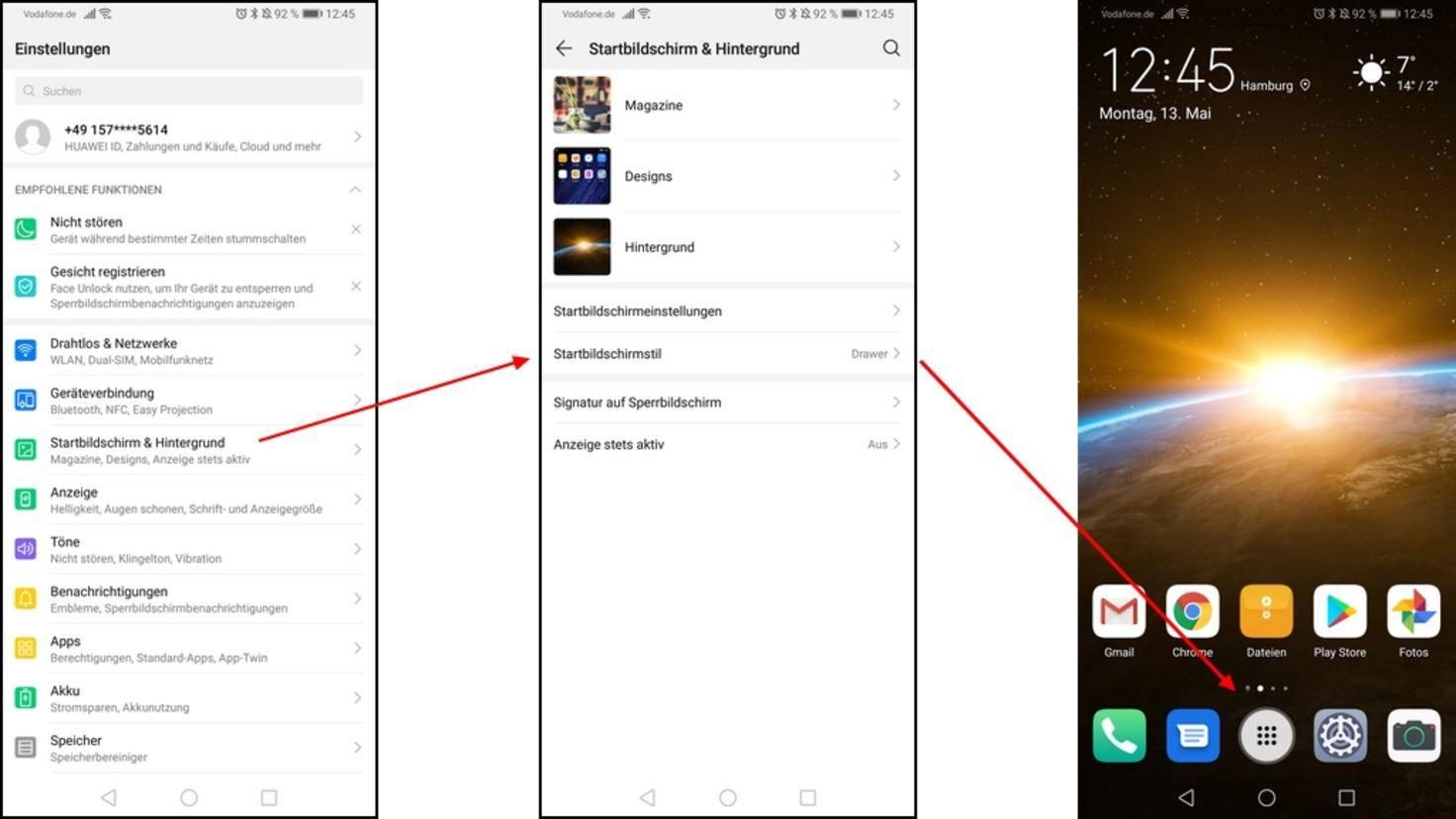 HuaweiP30Pro-App-Drawer