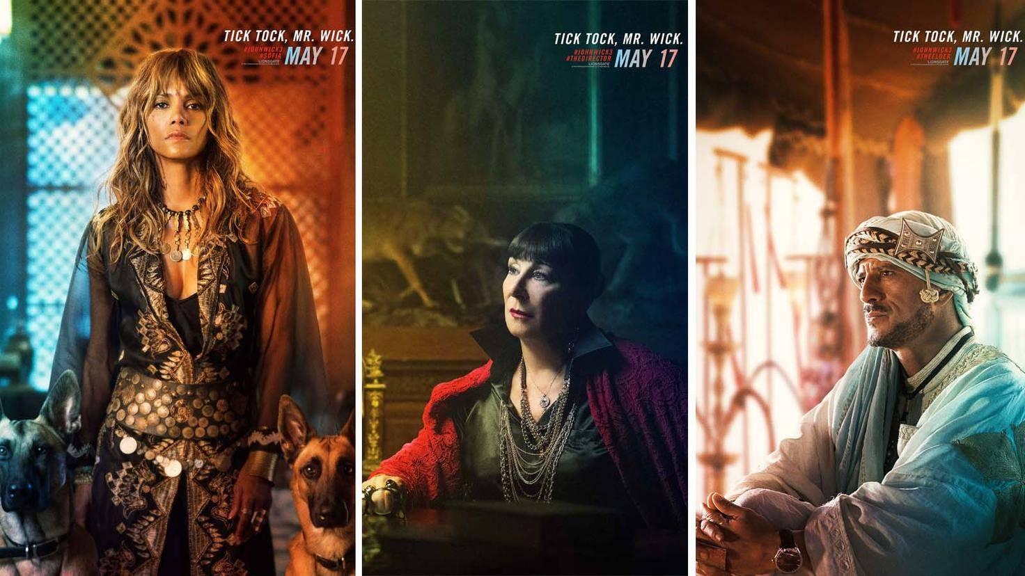 """Auch Halle Berry, Anjelica Huston und Said Taghmaoui zeigen in """"John Wick 3"""", was sie können."""