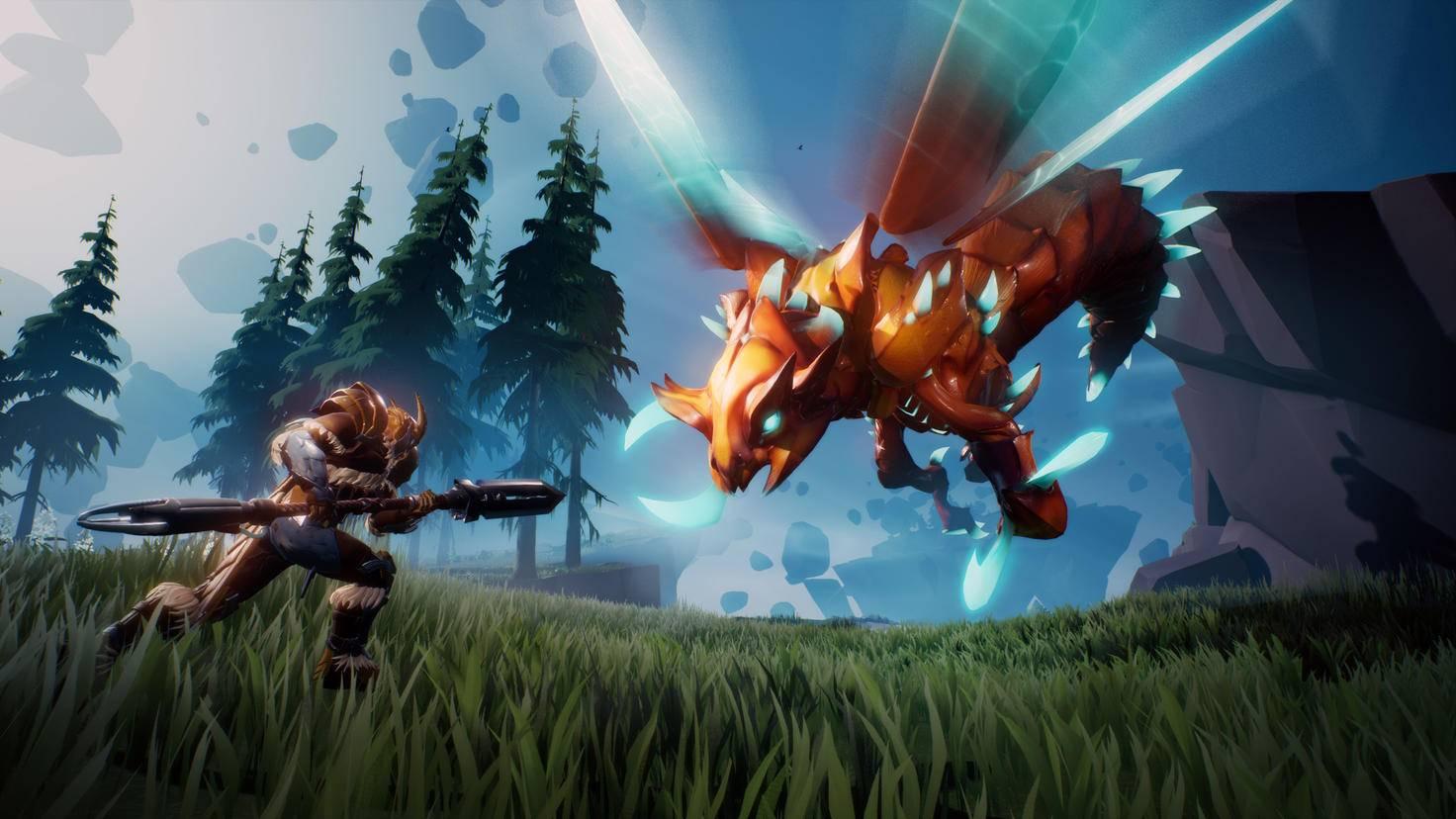 Gegen Terra-Monster wie den Kharabak solltest Du einen Schock-Lauf anschrauben.
