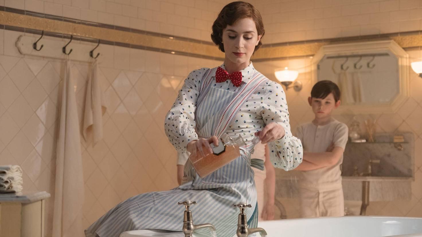 """Wie viel Tricktechnik für die einzelnen Musical-Nummern in """"Mary Poppins' Rückkehr"""" wirklich nötig war, ..."""