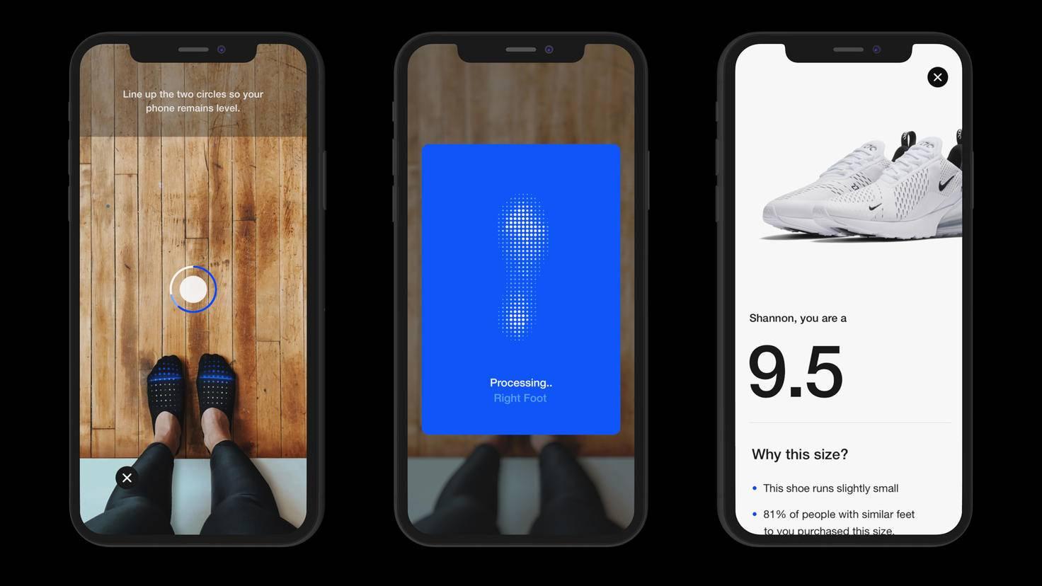 Nike Fit App