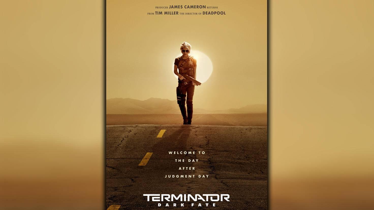 Terminator 6 Dark Fate-Poster-Sarah Connor-20th Century Fox