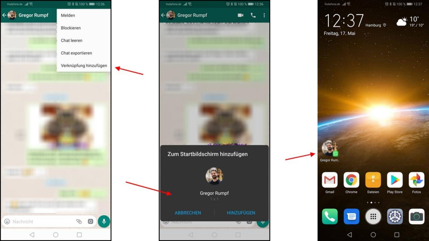 WhatsApp-Shortcut