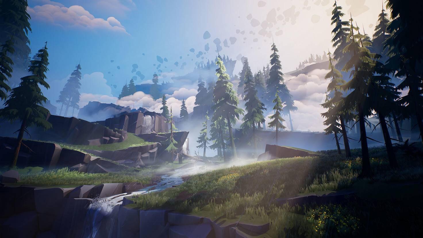 """Von außen hübsch, aber recht leer: die Shattered Isles, Schauplatz von """"Dauntless""""."""