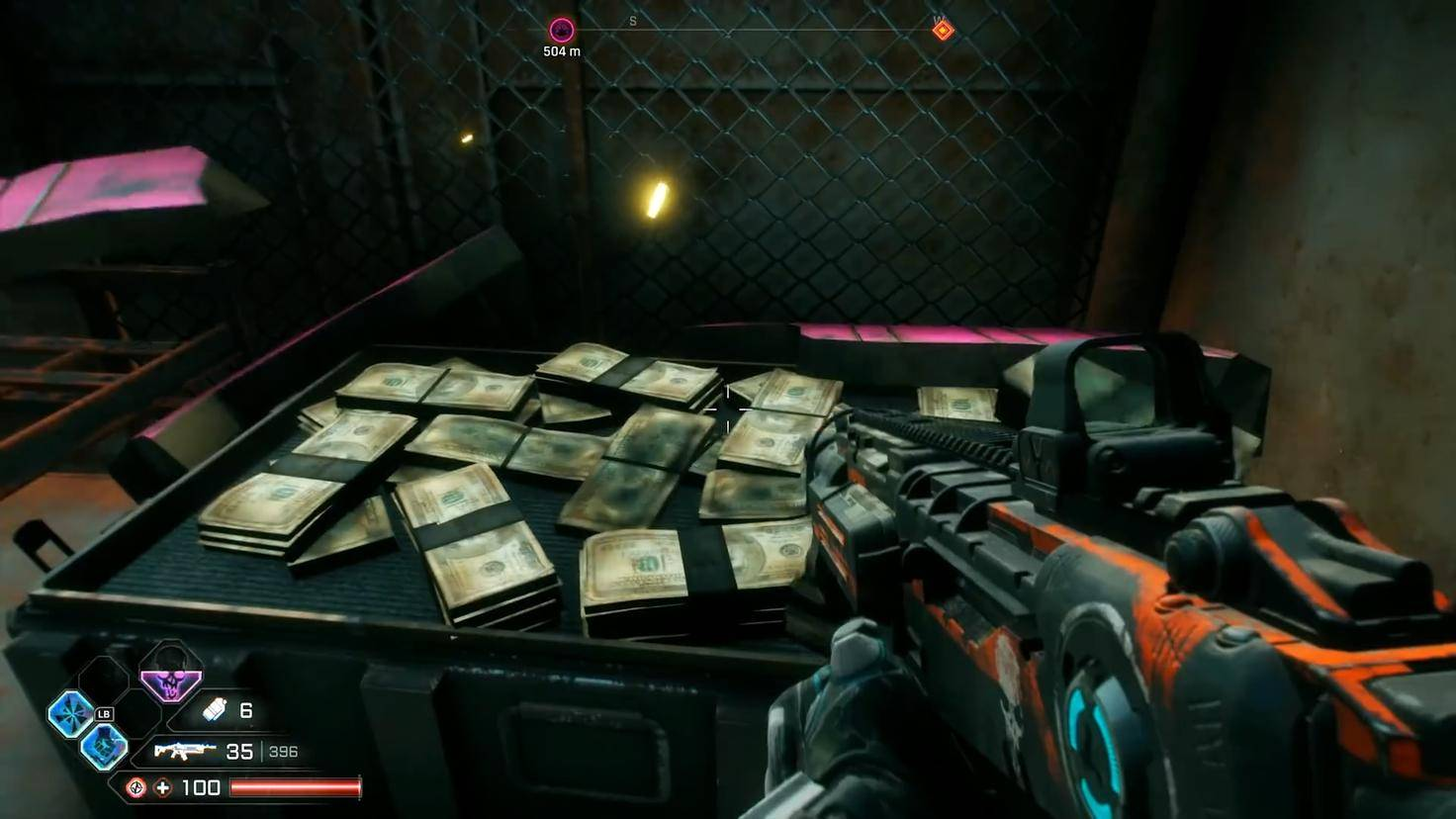 """Bargeldbündel sind irgendwie das Unspannendste, was man in """"Rage 2"""" finden kann."""