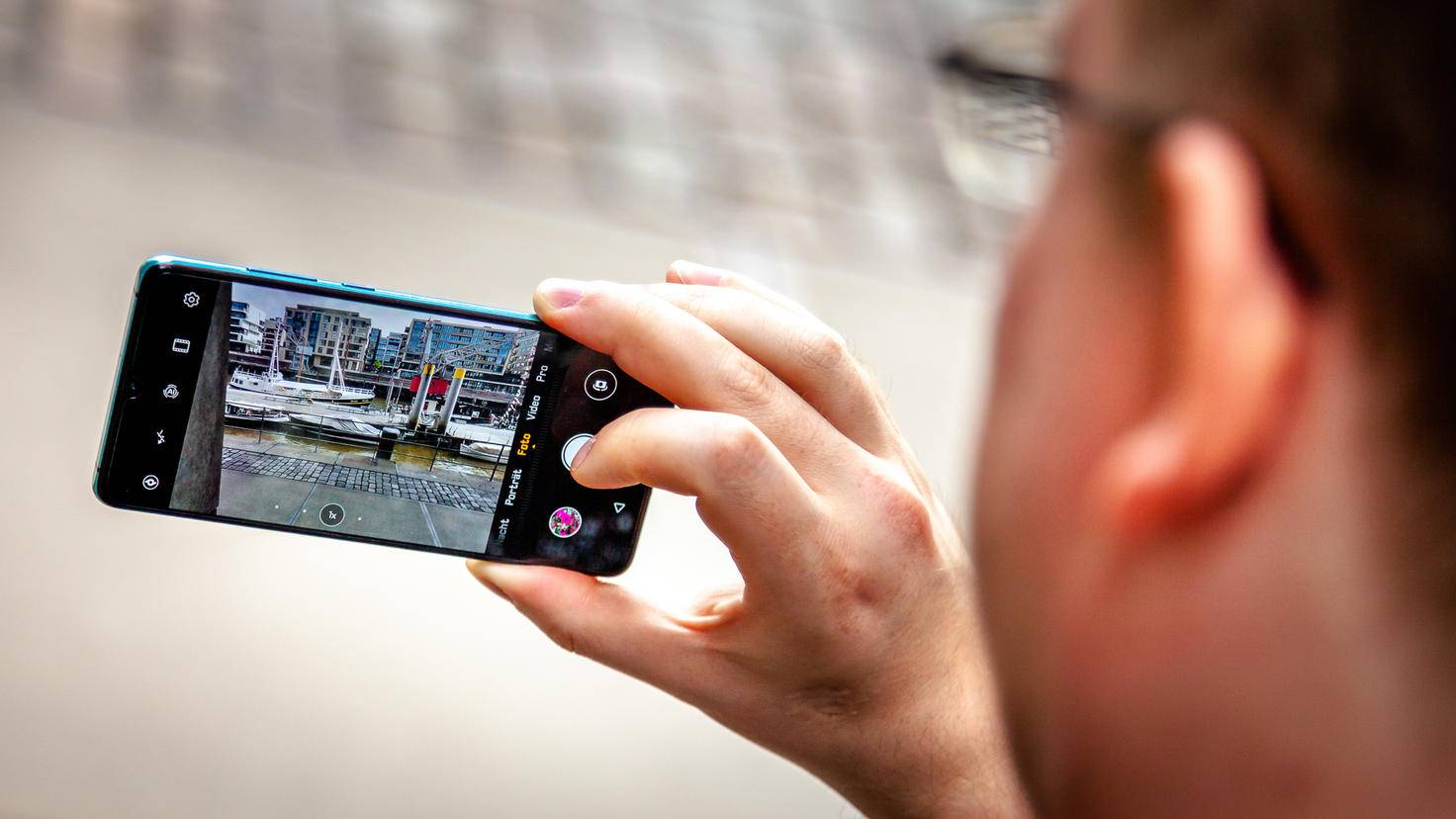 Die Kamera-App bietet viele Optionen, bleibt dabei aber übersichtlich.