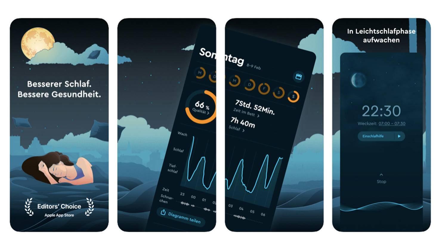 Sleep Cycle Schlaftracking