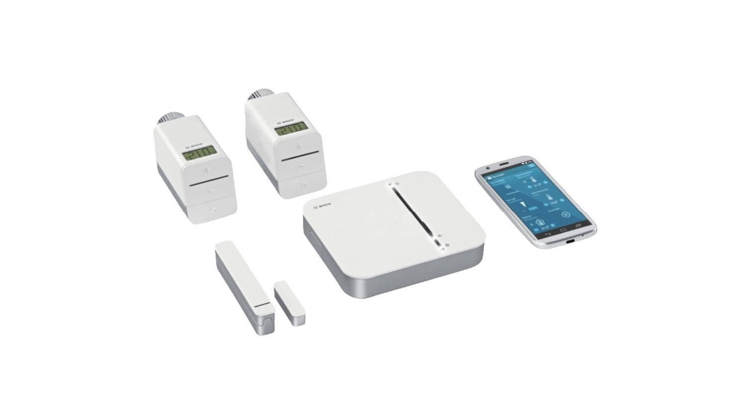 Das Bosch Smart Home Starter Kit reagiert ebenfalls auf Alexas Befehle.