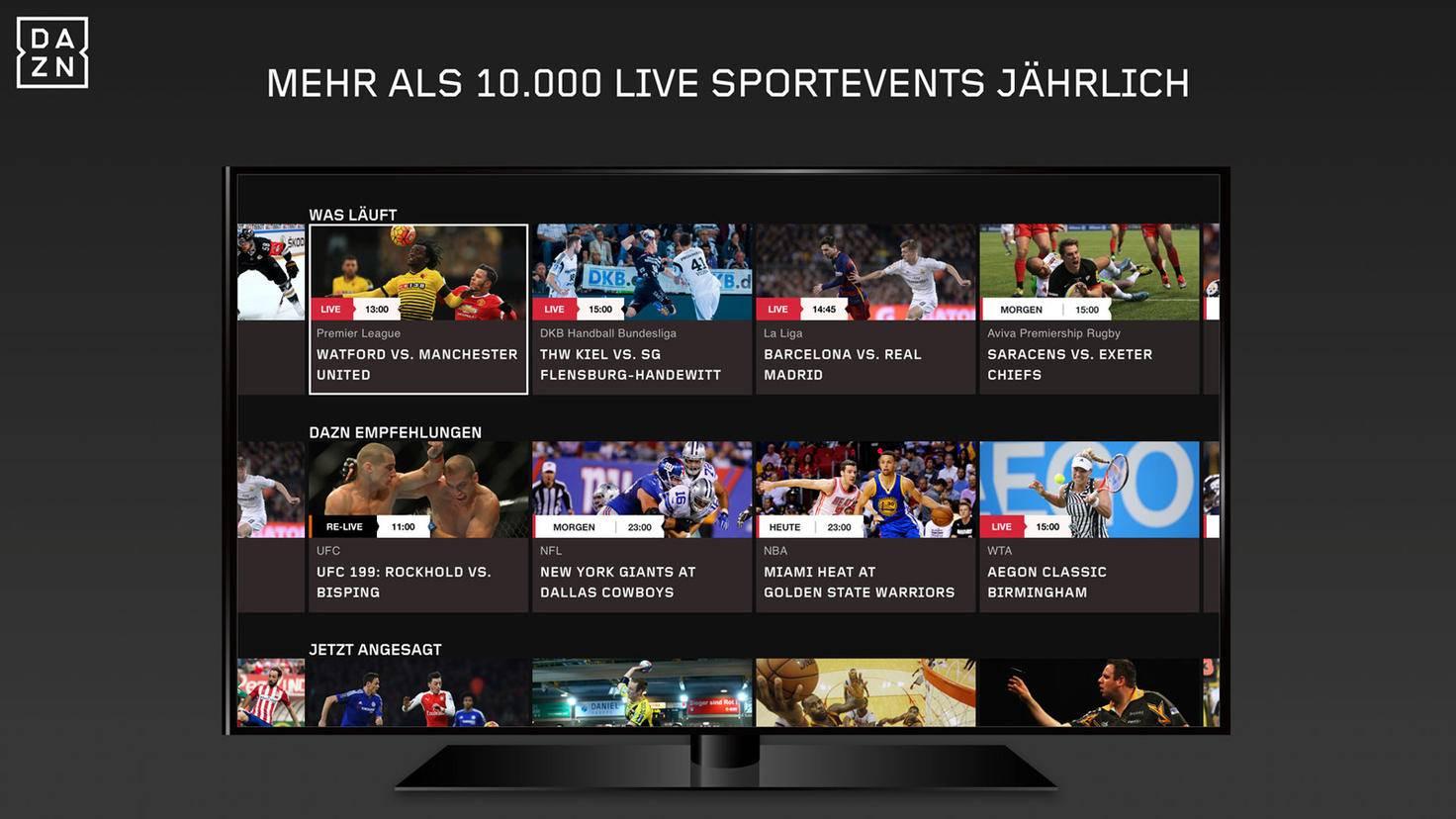Dazn Sportevents