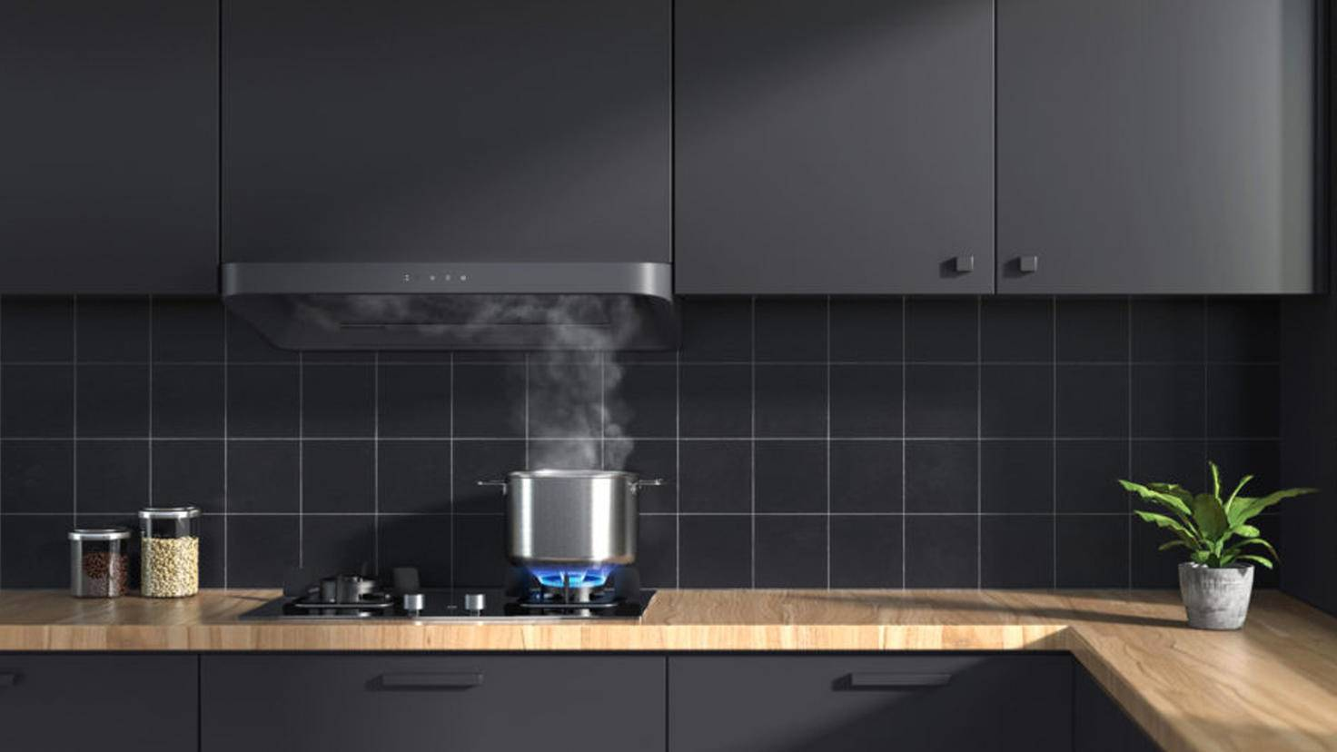Mi Smart Kitchen Exhaust Hood and Stove Top Set-Dunstabzugshaube Herd-Xiaomi