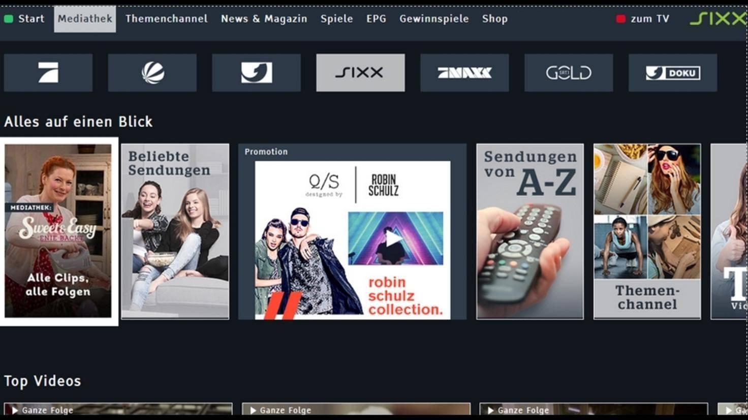 Sixx-HbbTV