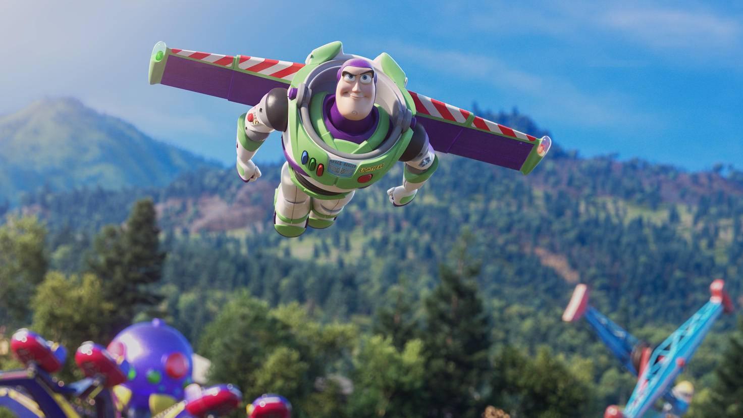 """Das kommt heraus, wenn Buzz auf seine """"innere Stimme"""" hört."""