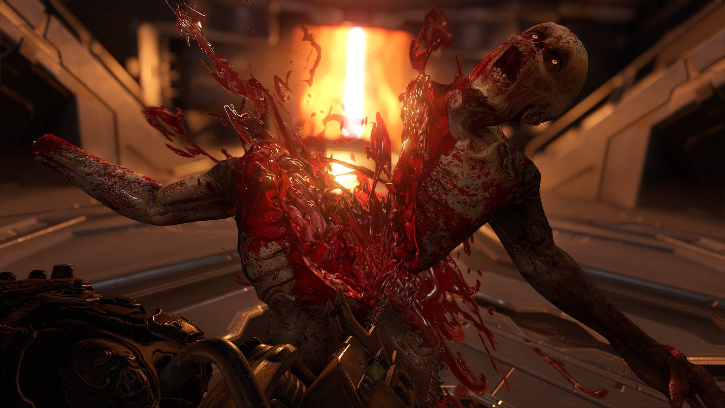 """Ich hab nur dieses Bild rausgesucht und schon wieder so Bock auf """"Doom""""."""