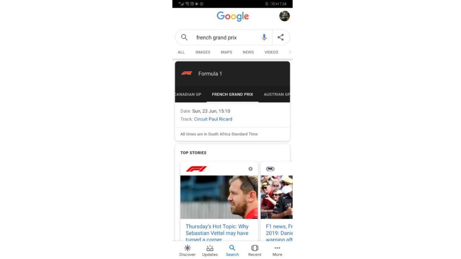 google-suche-app