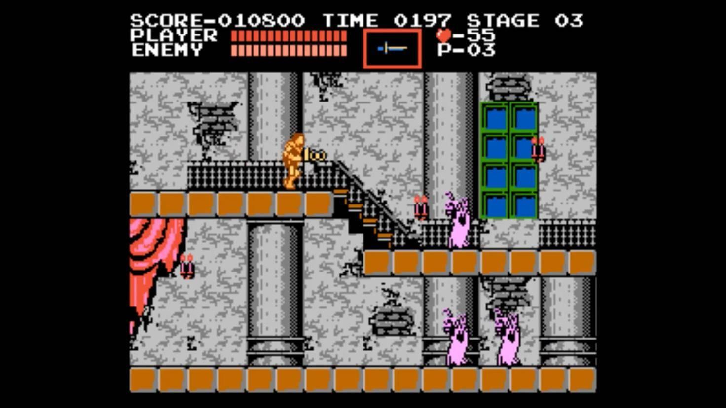 """Treffer durch Gegner werfen Dich in """"Castlevania"""" zurück. Für viele Gamer ist der sogenannte """"Knockback"""" purer Frust."""