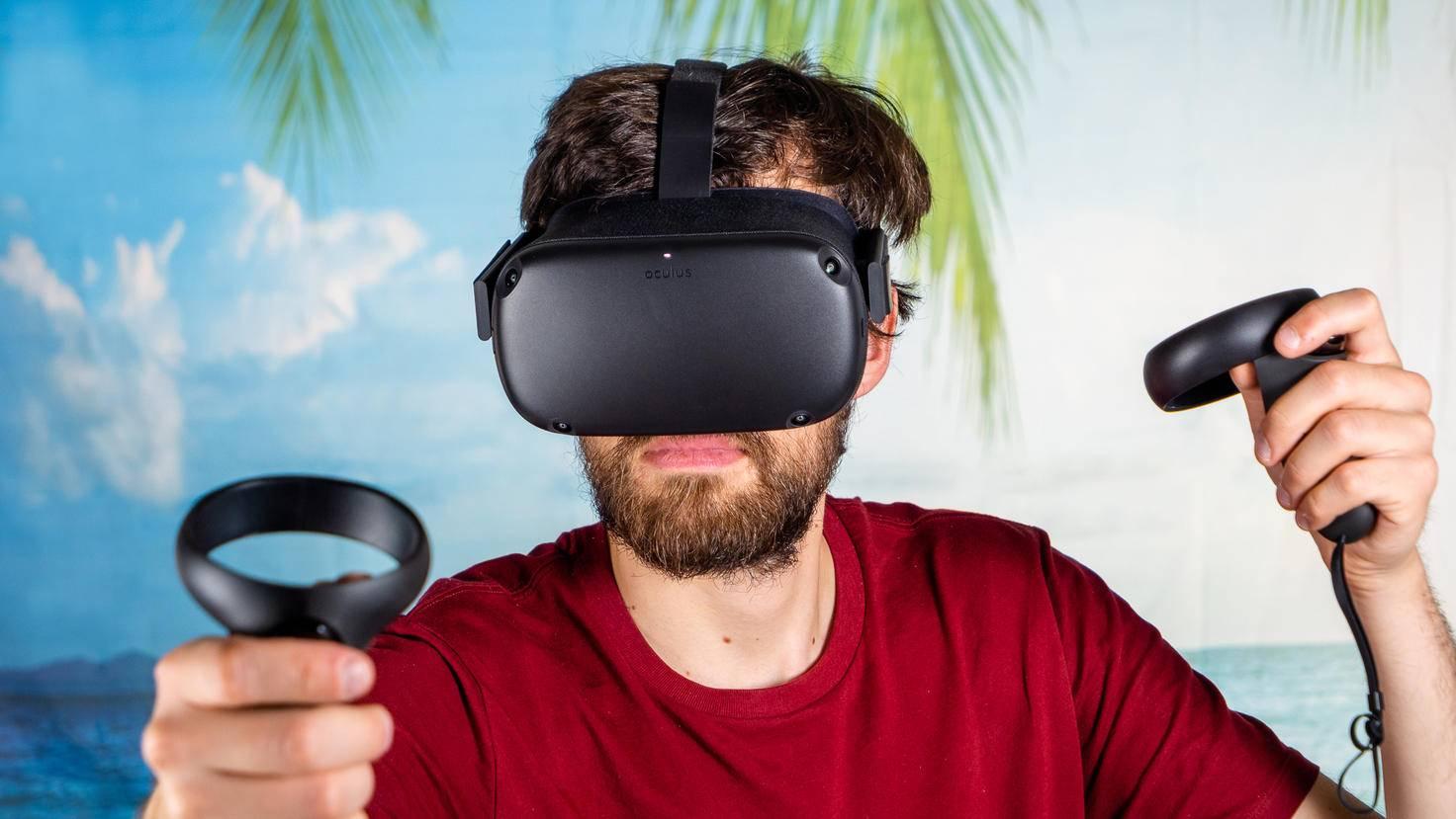 Bis VR auch von außen gut aussieht, vergeht wohl noch etwas Zeit ...