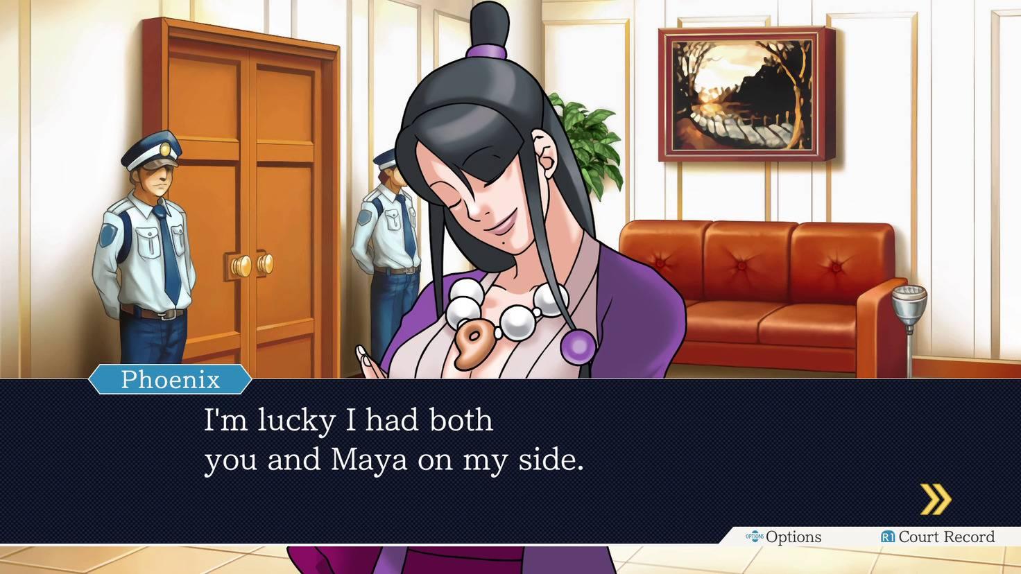 Weil Mia und Maya spirituelle Medien sind, kann Mias Geist den Körper ihrer Schwester übernehmen.