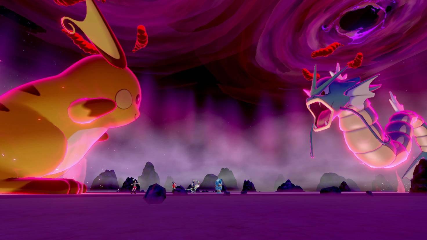 Kämpfen zwei Riesen-Monster gegeneinander, bebt die Arena.