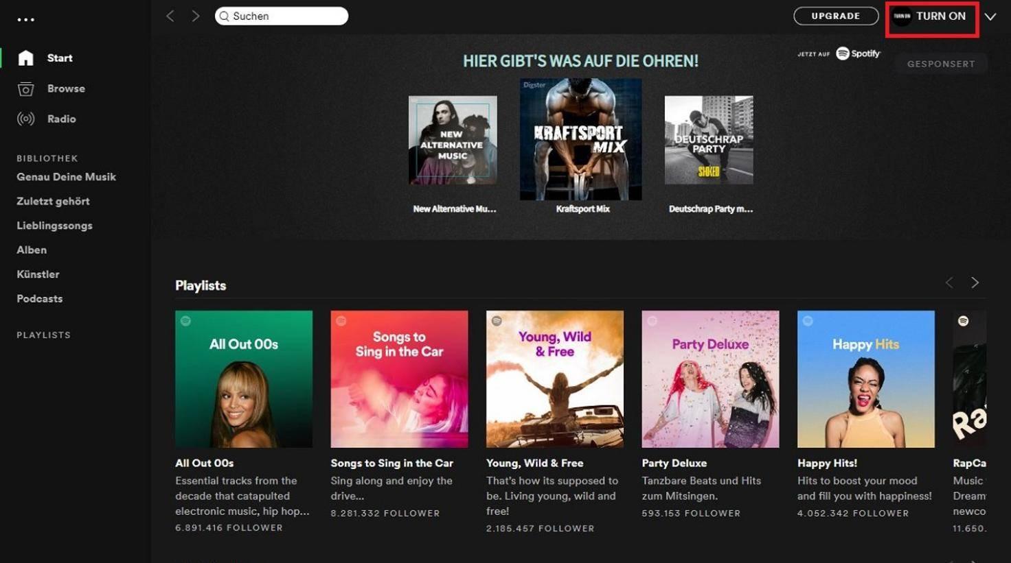 Der Anzeigename lässt sich bei Spotify leider nur über Umwege ändern.