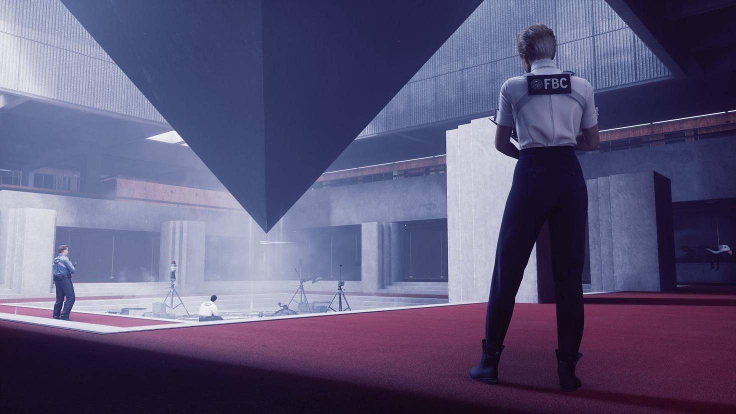 Control-pyramide